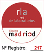 rl. red de laboratorios. Sistema madrid. nº Registro: 271